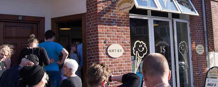 Vaffelhuset: En af Kertemindes største turistattraktioner