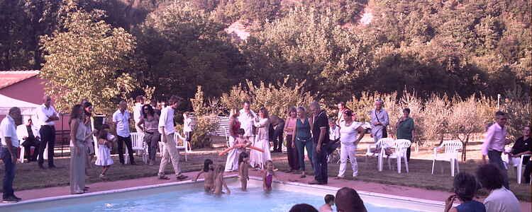 Invitation til bryllup i Chianti
