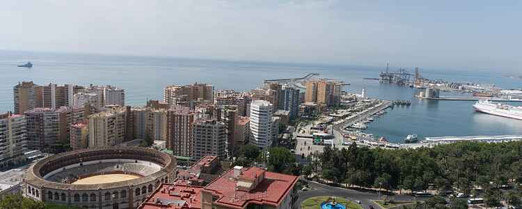 Udsigtsposterne i byen: Bestig Monte de Gibralfaro midt i Malaga