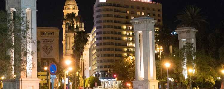 Shopping i Spaniens lite undanskymda storstad, Málaga.