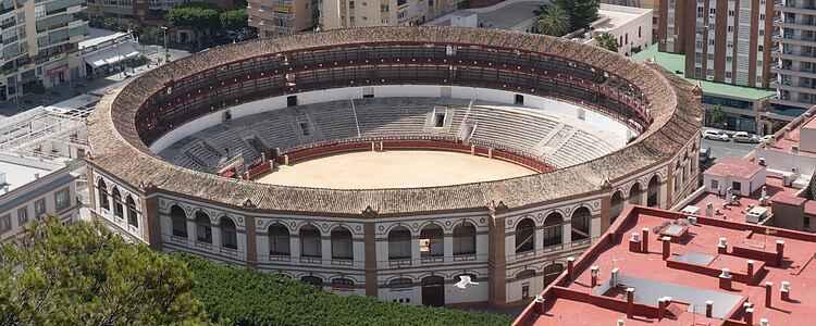 En skueplads for død, pine og spansk kulturarv: Tyrefægterarenaen i Malaga