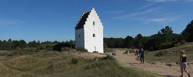Sanden som begravde en hel kyrka