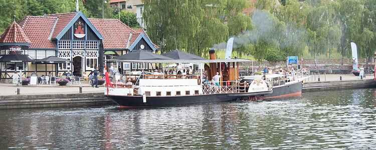 Världens äldsta hjulångare seglar till Silkeborgsöarna