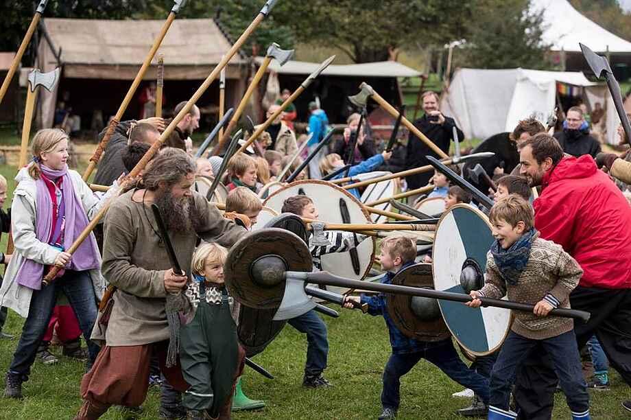 Sagnlandet lejre vikinger